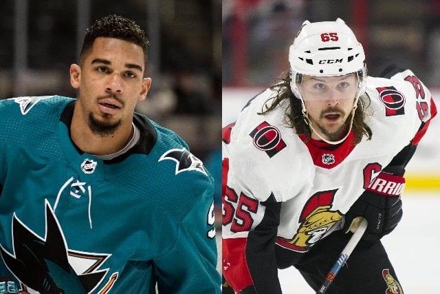 The San Jose Sharks and Evander Kane holding off contract talks. Teams that could be interested in Ottawa Senators defenseman Erik Karlsson.