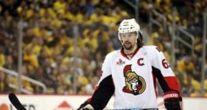 The Ottawa Senators say they won't trade Erik Karlsson at the NHL draft, but a team may still approach them.
