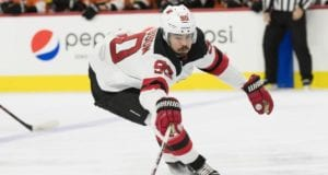 Forward Marcus Johansson returned to the Devils lineup.