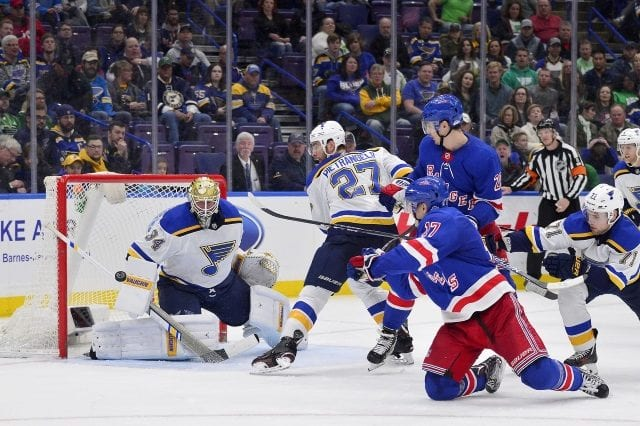 St. Louis Blues and New York Rangers