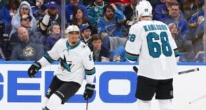 San Jose Sharks Evander Kane should be ready for the playoffs.