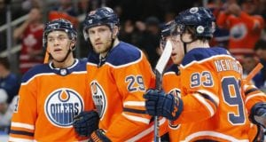 Edmonton Oilers need to find a scoring right winger for Leon Draisaitl. Trading Ryan Nugent-Hopkins for a defenseman creates another hole.
