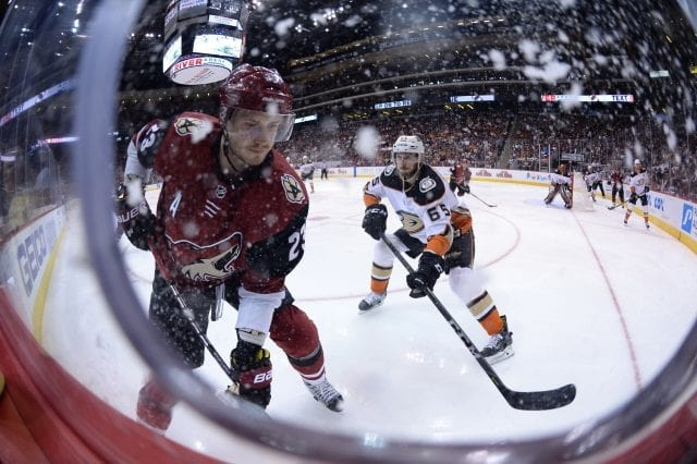 Oliver Ekman-Larsson is hopeful that he and the Arizona Coyotes could work out a contract extension.
