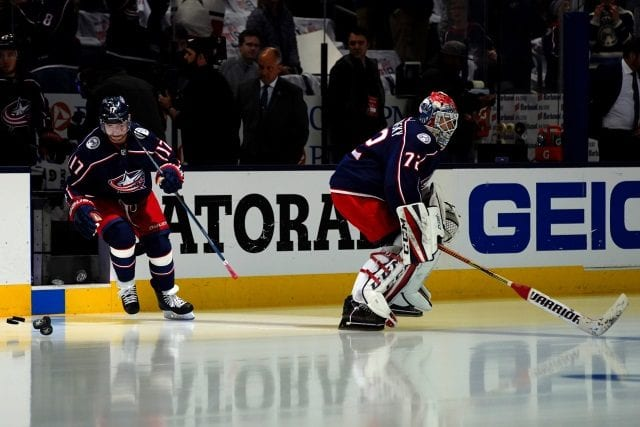 The Columbus Blue Jackets can talk contract extension with Sergei Bobrovsky and Artemi Panarin after July 1st.