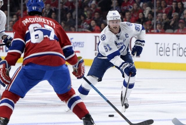 Steven Stamkos should be ready for Game 1. Max Pacioretty had a sprained MCL.
