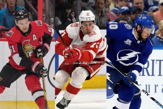 Three Pending NHL restricted free agents: Mark Stone, Dylan Larkin, J.T. Miller