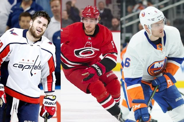 2018 NHL free agents - Notable restricted free agents from the Metropolitan division Tom Wilson, Noah Hanifin,- Ryan Pulock