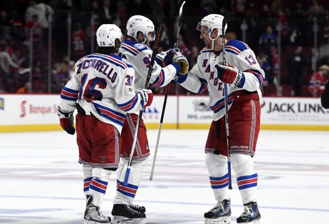 If the New York Rangers consider moving Mats Zuccarello or Kevin Hayes, they need to get present or future top-four defenseman in return.