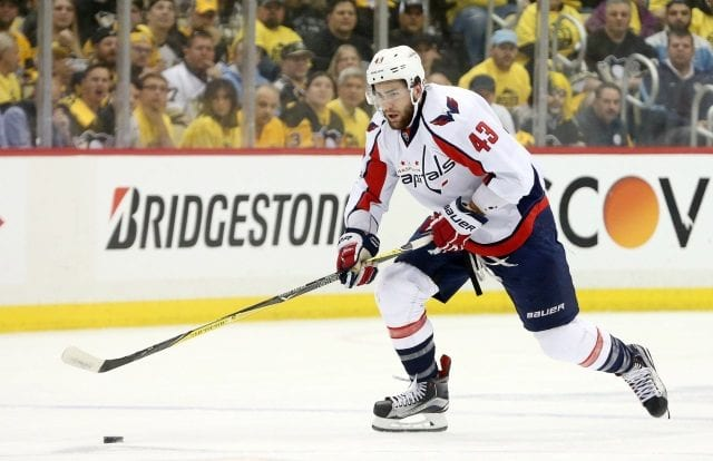 The NHL suspends Tom Wilson for three games.