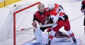 The Carolina Hurricanes trade Marcus Kruger to the Arizona Coyotes