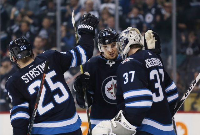 Can the Winnipeg Jets afford to re-sign Paul Stastny when they have pending RFAs in Connor Hellebuyck, Jacob Trouba and Josh Morrissey among others?