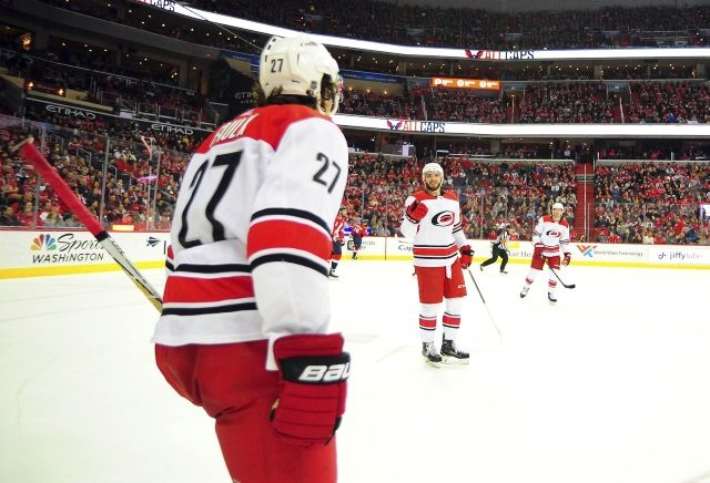 The Carolina Hurricanes have basically made anyone available for trade except Sebastian Aho.