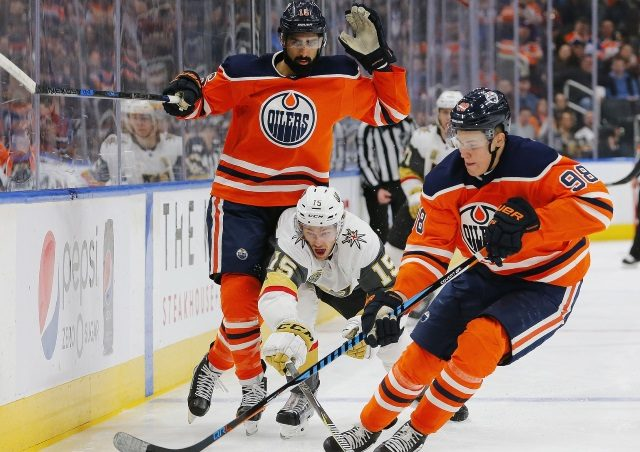 The Edmonton Oilers need an offensive defenseman. Would they move their 2018 first-round draft pick, or Jesse Puljujarvi, or Oscar Klefbom?