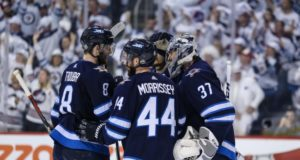 Winnipeg Jets pending restricted free agents include Connor Hellebuyck, Jacob Trouba and Josh Morrissey.