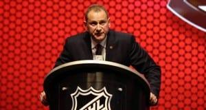 Brad Treliving of the Calgary Flames