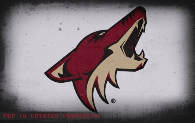 Top 10 Arizona Coyotes prospects