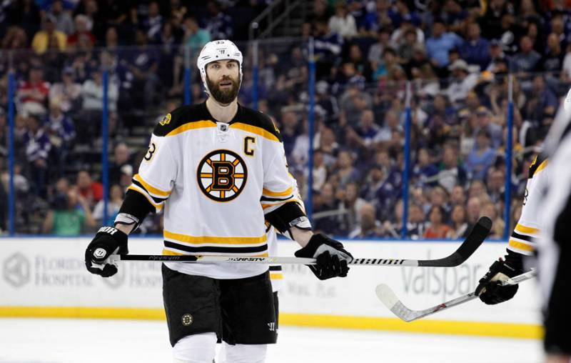 Free agent defenseman Zdeno Chara signs a one-year deal with the Washington Capitals after the Boston Bruins told him they were going younger.
