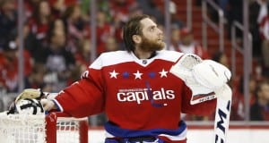 Braden Holtby could be in line to win his first Vezina Trophy