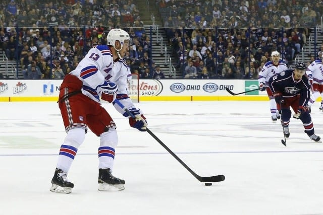 Kevin Hayes from the New York Rangers to the Winnipeg Jets.