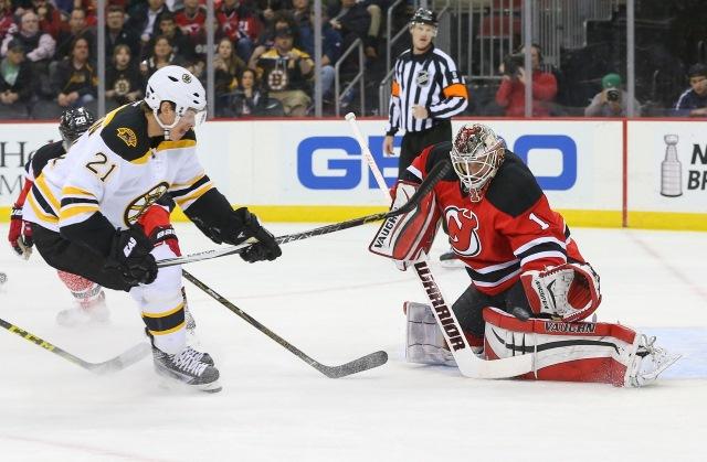 Loui Eriksson of the Boston Bruins
