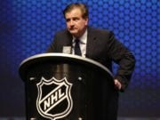 Vancouver Canucks GM Jim Benning