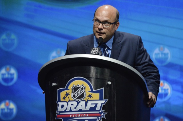 Edmonton Oilers fired GM Peter Chiarelli