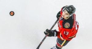 Johnny Gaudreau of the Calgary Flames
