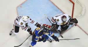 St. Louis Blues and the Chicago Blackhawks