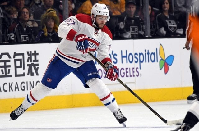 Alex Galchenyuk of the Montreal Canadiens