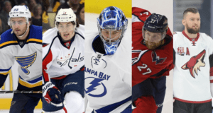 Five 2017 NHL free agents and what it might cost to sign them