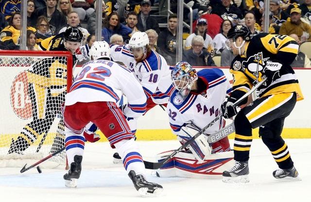 New York Rangers and Pittsburgh Penguins
