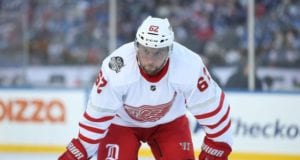 Thomas Vanek is one player the Detroit Red Wings could move at the NHL trade deadline