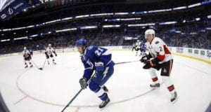 Ottawa Senators and Tampa Bay Lightning