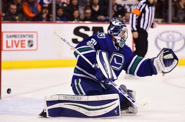 Ryan Miller of the Vancouver Canucks