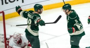 Minnesota Wild teammates Zach Parise and Jason Pominville have been diagnosed with the mumps
