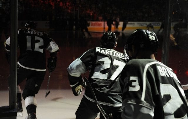 Could Alec Martinez, Marian Gaborik and Dustin Brown not be back with the Los Angeles Kings next year
