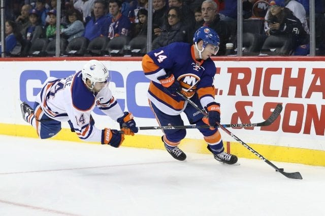 The New York Islanders could be interested in Jordan Eberle