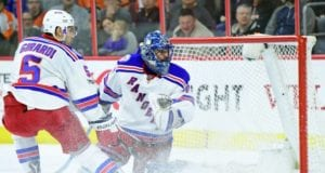 New York Rangers Henrik Lundqvist and Dan Girardi remain out but are getting closer