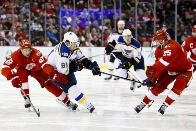 St. Louis Blues and Detroit Red Wings