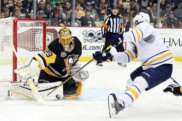 The Vegas Golden Knights may be targeting Marc-Andre Fleury