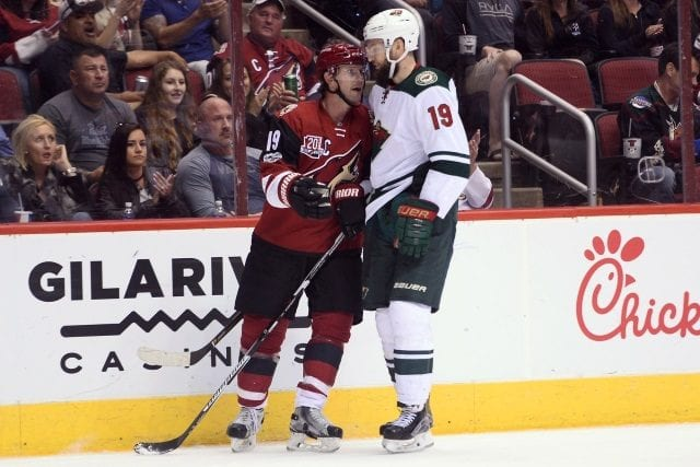 Martin Hanzal and Shane Doan