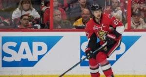 Eirk Karlsson of the Ottawa Senators