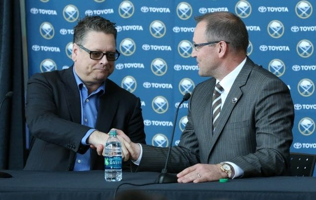 Looking at potential GM and coaching candidates for the Buffalo Sabres.