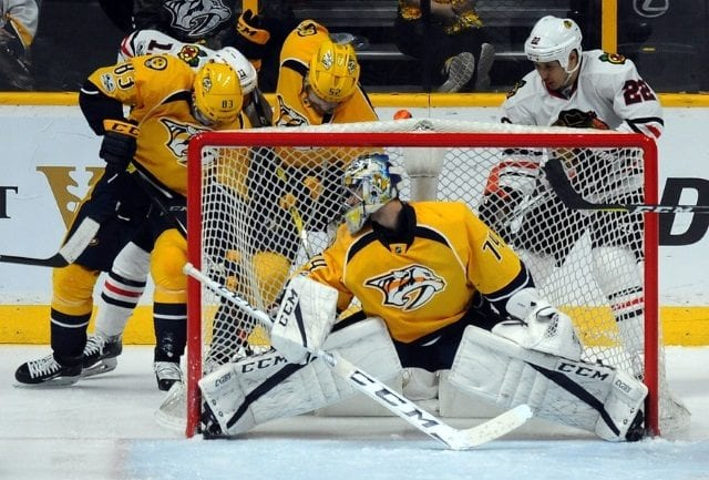 Western conference playoff previews including Nashville Predators and Chicago Blackhawks