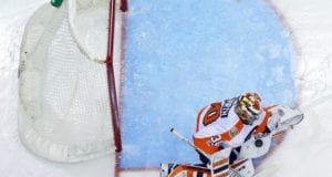 Michal Neuvirth of the Philadelphia Flyers