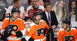 Claude Giroux of the Philadelphia Flyers