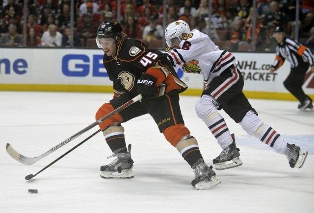 Sami Vatanen of the Anaheim Ducks