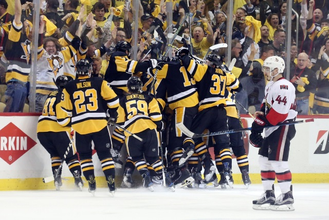 Pittsburgh Penguins beat the Ottawa Senators and are off to the Stanley Cup Final