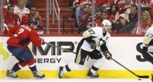 Sidney Crosby and Matt Niskanen