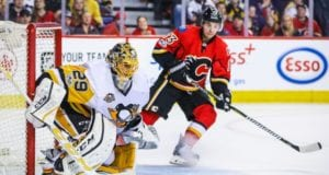 The Calgary Flames are one team that could be interested in Marc-Andre Fleury